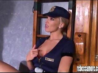 Horny blonde hardcore fuck slut Rebecca More gets facial and spunk pussy
