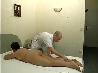 Mature Beauty gets a massage then fucks