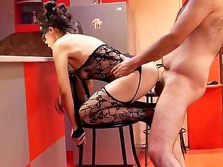 Rimjob und Analsex mit sexy Milf