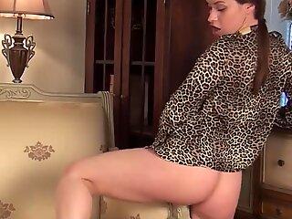 Olga loves her new sofa
