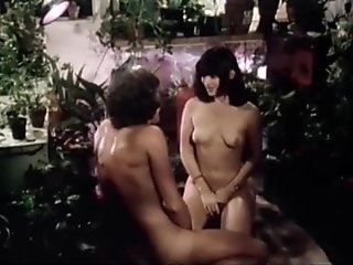 Retro porn movie with lots of hairy pussy