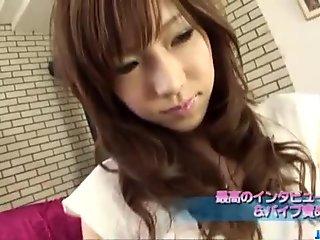 Serina Hayakawa swallows after nasty oral play