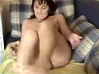German mature is horny