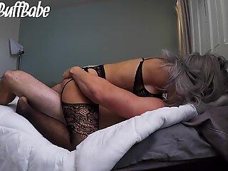 Goth Pige, Tatted med Perfekt Fisse og elsker Sucking Pik