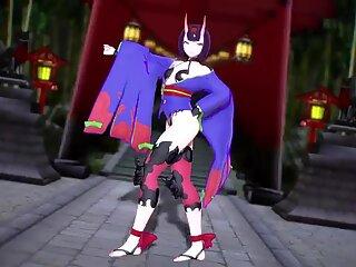 MMD Dance Sendte Douji