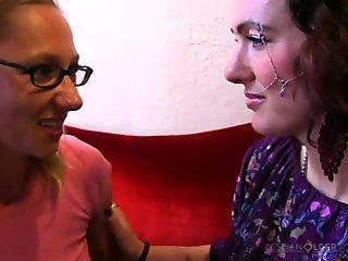 Confused Lesbian Sadie Lune and Maggie Mayhem
