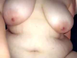 Hairy pussy wife riding my cock