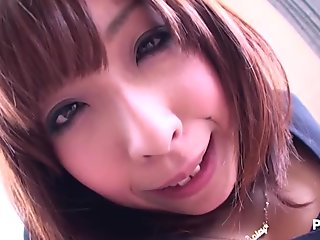 Stunning Japanese babe with nice tits gets fucked and stimulated