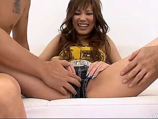 Oriental surrenders her twat for some lusty toying