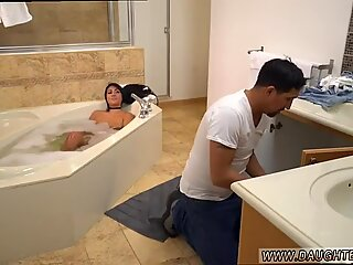 Lexy Bandera prende i suoi tubi puliti da un Hefty Cazzo - Lexy Star