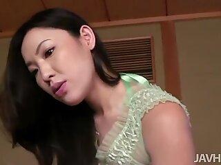 Dispettosa Asiatico Bambina Kaori Akitsu è incredibile Cazzo Sucker