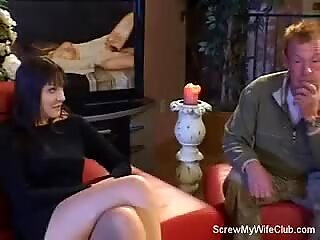 hubby Can't Stand wifey humping a Stranger!