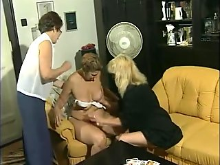 Strip poker with the grannies