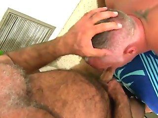 Mature hairy bareback