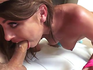 Slender Supermodel Adriana Chechik Sloppy Ass-Licking &amp_ Getting Anally Invaded