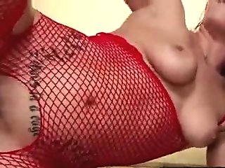 Naughty Babe gets hairy twat fingered before harsh drilling 22