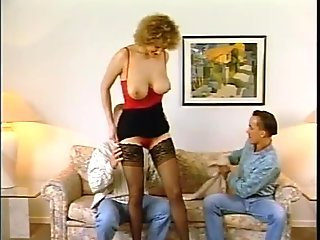 Husband and Wife Get Freaky With The Neighbor In The Living Room