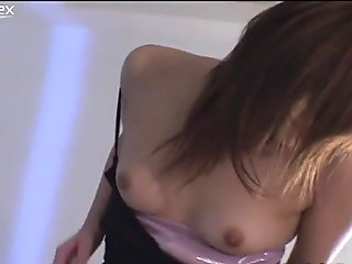 Naughty Asian gal Rena Kouzaki is having crazy sex with her co-worker